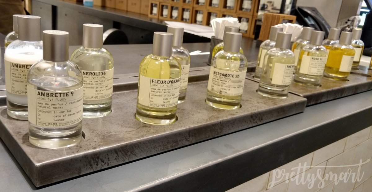 Finding Vetiver at Le Labo at Nordstrom