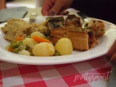Foyer De La Madeleine Meal