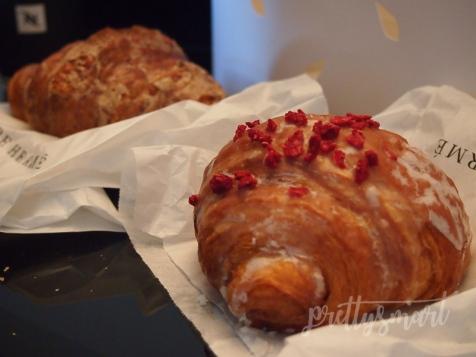 Pierre Hermé Rose-Raspberry croissant