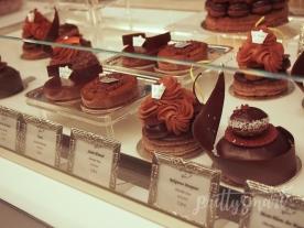 Les Marquis de Ladurée chocolate desserts