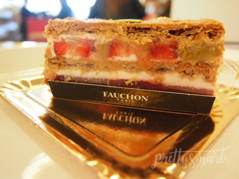 Mille-feuille at Fauchon