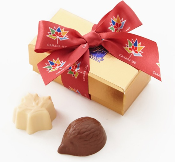Canada 150 Chocolate Favours Purdys Chocolatier