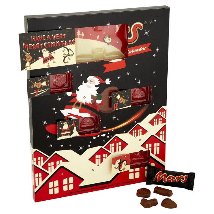 Mars Chocolate Advent Calendar