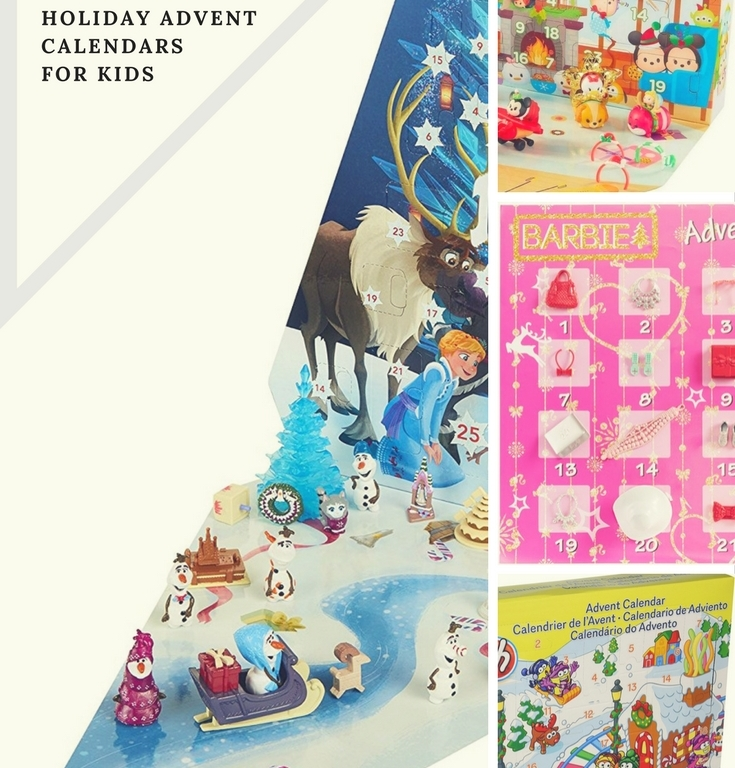 Holiday Advent Calendars for Kids