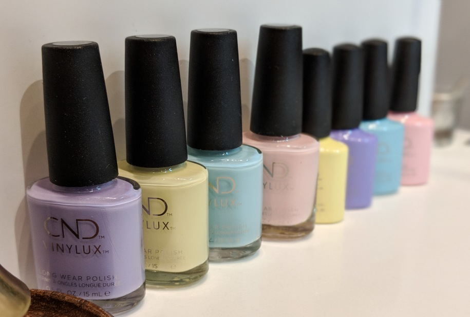 Chic Shock Collection in Vinylux and Shellac