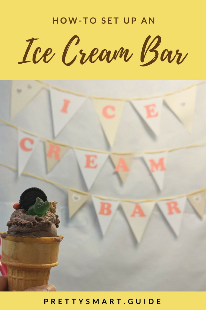 How to set up an ice cream bar