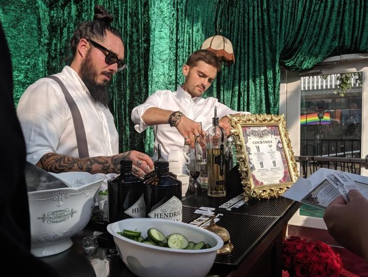 Hendricks Gin bartenders 20190802_175433